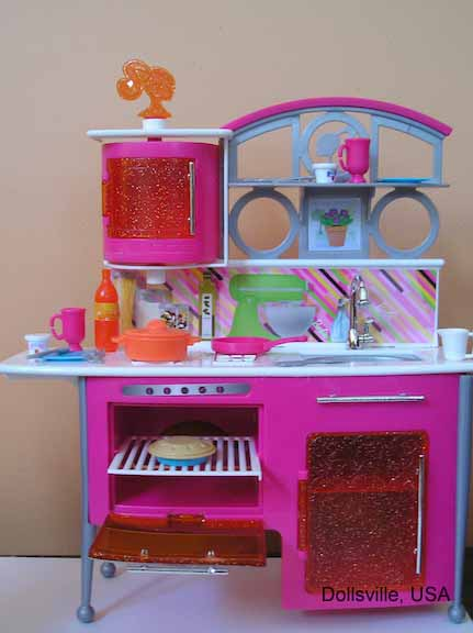 Kitchen Playset Dollsville Usa