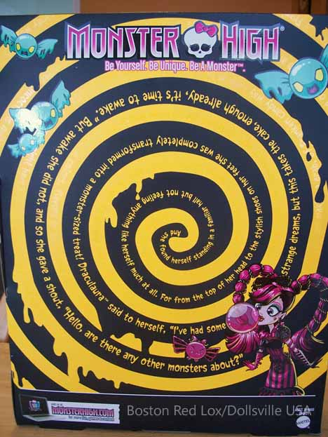 The back of the box features a hypnotic swirl.