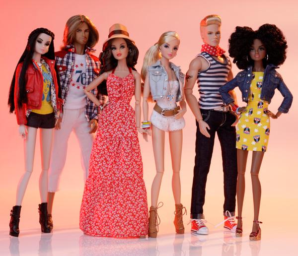 Dynamite Girls Love Revolution. Photo courtesy of Integrity Toys.