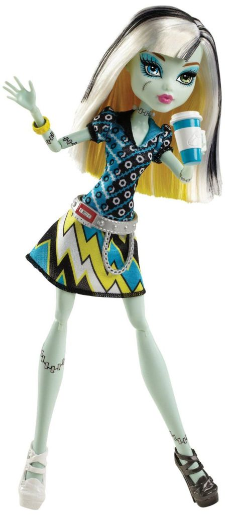 Frankie promo photo with Deuce Gorgon belt. Photo courtesy of Mattel