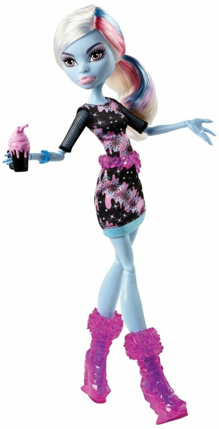 Promo photo of Abbey with pink belt and boots. Photo courtesy of Mattel