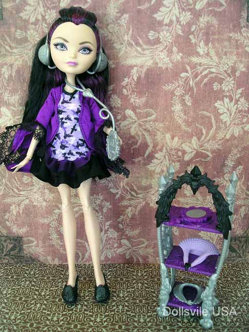 EVER AFTER HIGH DOLL ACCESSORY GETTING FAIREST RAVEN QUEEN DESTINY VANITY CROWN