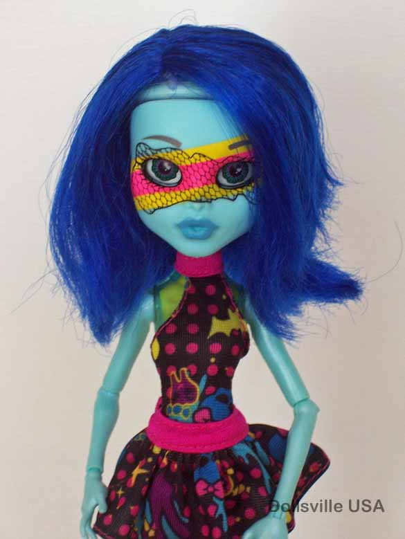 Monster high inner monsters dollsville usa - Masque monster high ...