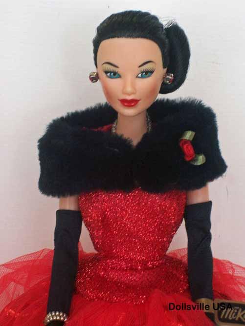 Candi Barbie Doll Brunette Lingerie Set Sleepwear By Hamilton Secrets Couture